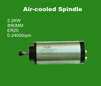 ac spindle - CNC Router parts KW MM ER20 AC220V woodworking spindle motor with P4 bearing for cnc engraving machine