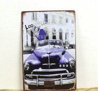 Wholesale looking for the trip car tin poster sign Bar hot Cafe hot deco poster x12 inch x30cm CA46
