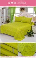 Wholesale NEW Polyester goods scenario bed flat sheet bedsheet good quality the dream of star