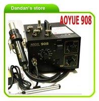 Cheap 220V AOYUE 908+ Hot Air Gun Desoldering Station