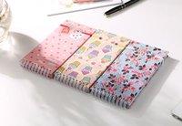Wholesale South Korea s small book art retro elastic fixed rope Creative portable notebook diary notebook cute