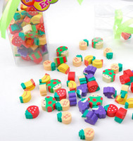 Cheap >6 years old Cute Gift Best Fruit Fantastic Eraser