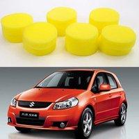 auto washing tool set - 10PCS Car Auto Wash Wax Clean Tool Orange Polishing pad Buffing Sponge Pad Set For Car polishing Sponge Pad Eraser