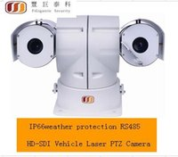 Wholesale FG P megapixel HD SDI Vehicle Laser PTZ Camera RS485 control IP66 weather protection