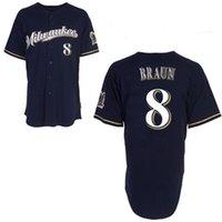 milwaukee - Milwaukee Brewers Ryan Braun Blue Jersey Cheap Baseball Cool Base Stitched Jerseys Mix Order