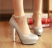 Wholesale Drop Shipping hot selling lady s Sexy High Heels Pumps Wedding Shoes