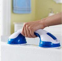 Wholesale 60pcs ctn bathtub handrails Sucker Handle Bathroom Armrest Keep Safe Glass Door Handle for kids and old people