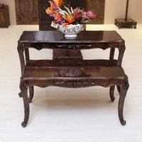 Wholesale Clothing store Display Table Modeled after an antique Wood Brown Spot Stall Sand Fuiniture Retro Office