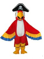 best pirate costumes - tradediscount Hot Selling Best price Adult Pirate parrot Plush Adult Mascot Costume
