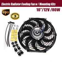 Wholesale New inch V Slim Reversible Electric Radiator Cooling Fan Push Pull Easy Install order lt no track
