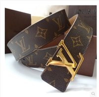 Wholesale 2015 male crime luxurious leather fashion designer style leisure belt heat high quality low price