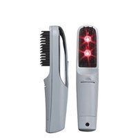 Wholesale Post Shipping Laser Hair Growth Comb Hair Protection Vibration Comb Massager Growth Hair Care Restoration Treatment Stimulator