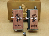 Cheap 2015 wood Enjoy 301 303 30W box mod for 18650 mods with power bank for mobile electronic cigarette fit Dark Horse Monkey Darang V2 V3 RDA