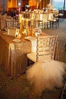 table cloths - 120cm x cm Gold Wedding Sequin Table Cloth