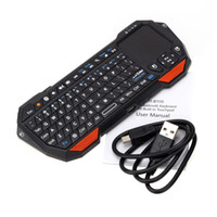Wholesale Mini Portable QWERTY Wireless Bluetooth Keyboard with Touchpad for PC Tablet Windows Android iOS