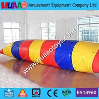Wholesale m mm PVC inflatable water blob jump for sale with free CE UL pump carry bag repir kit