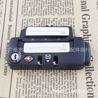 Wholesale Factory Direct HD TSA luggage locks tab Customs lock luggage accessories