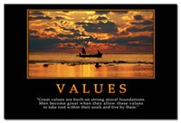 beach quotes - VALUES Motivational Quotes Sea Beach Landscape Art Silk Poster x36inch