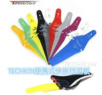 Wholesale 10231 TECHKIN ultra portable quick release fender mountain bike road dead fly ASS Mudguard