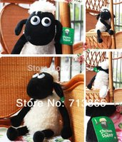Wholesale 25cm Cute Shaun the sheep lamb plush toys Christmas gift bag sends kids Best gift