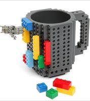 Wholesale 120 BBA4738 colors Creative DIY Build on Brick Mugs Coffee Drink CUP Lego PixelBlocks Mega Bloks KRE O K NEX Bricks Compatible Bricks Cup