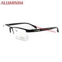 aluminium optical frames - 2015 New Arrival Aluminium optical frames eyeglasses Half frame for Men fashion prescription eyewear Frame CX6228
