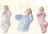 baby swaddle - Children Nursery Bedding Baby Sleepsack Infant Zip Up Swaddle Baby Sleeping bag Cotton Swaddling Blanket Wrap Swaddle Wrap Blanket New D4510
