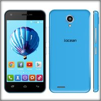Wholesale Original Neo Phone iOcean X1 MTK6582 Quad Core GHz Android GB RAM GB ROM inch Bluetooth WiFi WCDMA Smartphone Free DHL