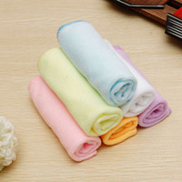 Wholesale New x25cm Microfiber Absorbent Car Wash Cleaning Hand Towel Washcloth Multi Colors order lt no tracking
