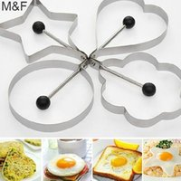 Wholesale Hot Mini Kitchen Gadget Tool Stainless Steel Pancake Mold Ring Cooking Fried Egg Shaper SMT001