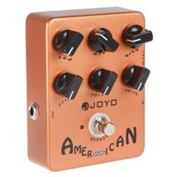 Wholesale JOYO JF American Sound Effect Guitar Pedal with Deluxe Amp Simulator and Unique Voice Control