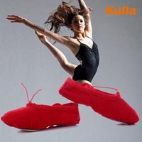 Wholesale 2016 children ballet Sshoes soft ballet shoes sole girl ballet shoes female adult woman F to the child