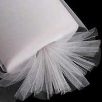 tulle spool - Pure White Tulle Roll Spool quot x100 Yard Girl Tutu Fabric Bridal Wedding Skirt Craf Party DIY New DTU
