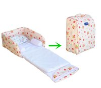 Wholesale 2015 Newborn Baby Folding Cot Infant Safety Portable Foldable Cradle Bed Baby Travel Crib Bigger Size