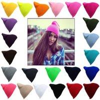 beige tabby - Winter Warm Unsex Knitting Women Men Wool Fluorescence Color Sport Outdoors Tabby Solid Elastic Beanie Hedging Hat Hats for Teen