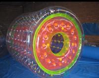 aqua parks - Popular inflatable water roller for amusement park aqua fun