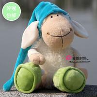 2-4 Years animal toy sheep - 2016 New Hot Sale cm Germany Nici Jolly Sleepy Sheep Plush Doll Animal Toy Children Birthday Gift Christmas Presents