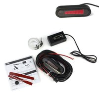 Wholesale New Car LCD Electromagnetic Parking Backup Radar Sensor Antenna Bumper Jecksion