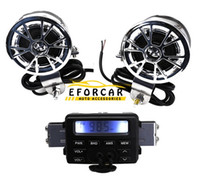 Wholesale New hot sale V FM Car MOTORCYCLE RADIO MP3 Speaker Audio Player Stereo WATERPROOF SPEAKERS