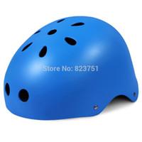 children bmx bicycle - Child Bike Helmet Safety Mountain Road Bicycle Helmet For Skating Skateboard Climbing MTB BMX Cycling Helmet TK