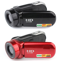 Red / Pink high definition video camera - HOT SALE HD TFT LCD x Digital Zoom Recording High Definition DV Video Camera E9004