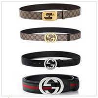 Wholesale New Fashion belt buckles Men s Belt Genuine Leather Belts Leique Texture belt leather men Wide Belts for men women G belts guc cifullying