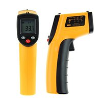 Wholesale 1 New GM320 Non Contact Thermometer IR Infrared Digital Temperature Control Meter Gun Thermometers