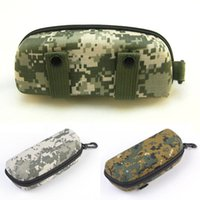 Wholesale Popular Cool Novel Airsoft Tactical Military MOLLE Outdoor Sports Shockproof Glasses Pouch Glasses Cases Box Portable