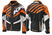 motocross clothing - Top grade KTM motorcycle racing suits motocross bike clothing jersey knight costume with split sleeve oxford mesh clothing