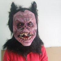 ball hood latex - Batman Halloween Mask Ball Latex Hood Cosplay Devil Latex Masks Carnaval Party Mask Masquerade Masks For Adult