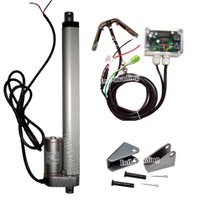 actuator system - Complete Kit Single Axis solar tracking system DC V mm Inch Linear Actuator Electronic Controller Sunlight Tracker