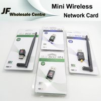 Wholesale Mini Wireless Network Card USB Wifi Adapter n g b LAN Network Card Mbps Wifi Repeater USB WiFi Router M M