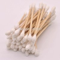 Wholesale 40 Bag Double Head Health Makeup Cosmetics Ear Clean Jewelry Clean Cotton Swab Stick F50HJ0030 S5