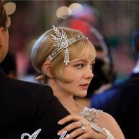 Cheap The Great Gatsby Band Best Wedding Bridal Tiara
